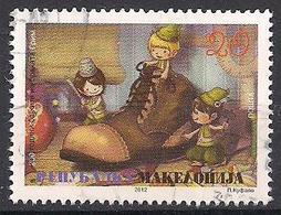 Mazedonien (2012)  Mi.Nr.  646  Gest. / Used  (6ah03) - Mazedonien