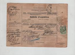 Bulletin D'expédition Manufactures Réunies Thônes 1931 - Billetes De Transporte