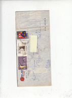 URUGUAY  1966 - Yvert A275-705-741 - Lettera Per Italia - Uruguay