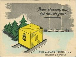 ROMI Margarine Fabrieken : Antwerpen     15 X 11.5 Cm  (  See Scan For Detail ) - Produits Laitiers