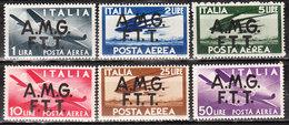 PA1/6**  Timbres D'Italie Surchargés AMG FTT - Série Complète - MNH** - LOOK!!!! - 7. Trieste