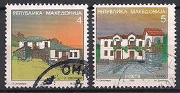Mazedonien  (1999)  Mi.Nr.  151 + 152  Gest. / Used  (6ah08) - Mazedonien