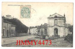 CPA - La Mairie, Rue Bien Animée En 1906 - SAINTE LUCE ( Canton De Carquefou ) 44 Loire Inf. - Cliché S.Brégeon N°1282 - Carquefou