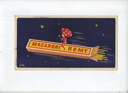 REMY MACARONI ( Wijgmaal Leuven )   24 X 13 Cm (see Scan For Detail) - Buvards, Protège-cahiers Illustrés