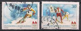 Mazedonien  (1998)  Mi.Nr.  114 + 115  Gest. / Used  (6ah11) - Mazedonien