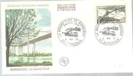 FDC 1967  FRANCIA - Puentes
