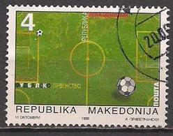 Mazedonien  (1998)  Mi.Nr.  126  Gest. / Used  (6ah19) - Mazedonien
