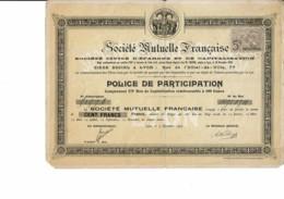 69-MUTUELLE FRANCAISE. STE ...STE CIVILE D'EPARGNE ET DE CAPITALISATION. LYON - Actions & Titres