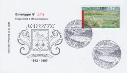 Carte  1er  Jour   MAYOTTE   Lac   DZIANI   DZAHA   2001 - Mayotte (1892-2011)