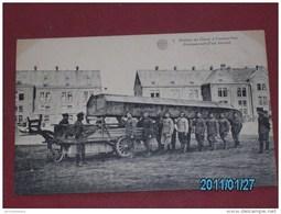 MILITARIA - ARMEE BELGE - Soldats Du Génie -   Chargement D'un Haquet   - - Manoeuvres