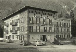 AK Südtirol Canazei / Bozen Albergo Croce Bianca Oldtimer ~1955 #1680 - Bolzano (Bozen)