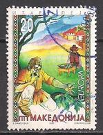 Mazedonien  (1997)  Mi.Nr.  102  Gest. / Used  (6ah35)  EUROPA - Mazedonien