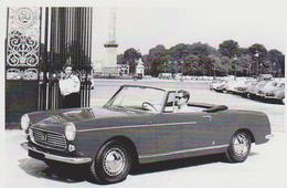 CARTE POSTALE VOITURE PEUGEOT 404 CABRIOLET DE 1961 -  10X15 CM - Voitures De Tourisme