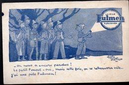 Buvard LA PILE FULMEN (illustr Sant Ogan) (PPP10278) - Baterías