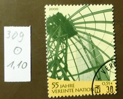 UNO Wien Michel Nr:  309   Gestempelt Used     #4974 - Wien - Internationales Zentrum