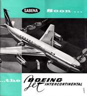 AIRPLANE , SABENA , BELGIUM 1959 , 60 Pages - Europe