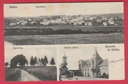 Kehlen - Souvenir ... 3 Vues ( Panorama , Schönberg, Maison Adam ) - 1906 ( Voir Verso ) - Cartes Postales