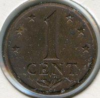 Antilles Neérlandaises Netherlands Antilles 1 Cent 1972 KM 8 - Antillen (Niederländische)