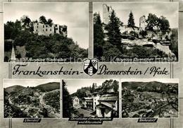 73248284 Diemerstein_Pfalz Burgruinen Frankenstein Diemersheim Oberdorf Unterdor - Ohne Zuordnung