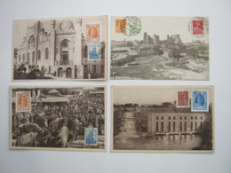 TASCHKENT  , 4 Schöne Karten  Um 1928 - Ouzbékistan