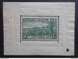 Luxembourg - Bloc 1 - 1923 - Neuf - VC. 2000.00 € - Blokken & Velletjes