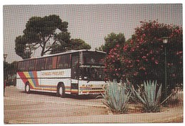 Libourne Rare Publicité Voyages Et Transports Prieuret Autobus - Libourne