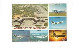 AEROPORT  DE PARIS ORLY LOT DE 5 CARTES   ****     A   SAISIR   ***** - Flugwesen