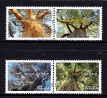 Australia 2015 Australian Trees Set Of 4 CTO - Oblitérés