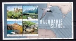 Australian Antarctic 2010 Macquarie Island Minisheet CTO - Usados