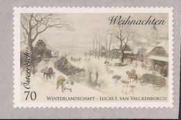2014 Austria Mi. 3173 **MNH .Weihnachten NOEL  Rollenmarke Selbstklebend - 1945-.... 2nd Republic