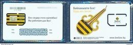 KYRGYZSTAN BEELINE GSM (SIM) CHIP CARD MINT UNUSED SEALED IN BLISTER - Kirgisistan