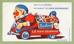 "ESTAFETTE "" RENAULT ""  ( BUVARD : LE NAIN GOURMAND ) - Automobile"