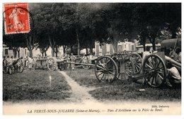 -77-LA FERTE SOUS JOUARRE-Parc D'artillerie-sur Le Pâtis De Reuil. - La Ferte Sous Jouarre