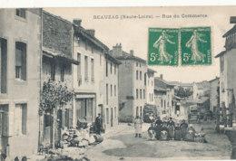 43 // BEAUZAC   Rue Du Commerce   Edit Corret  ** - France