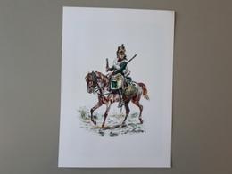 Affiche : Dragon Du 10 ème Régiment Premier Empire  & - Autres