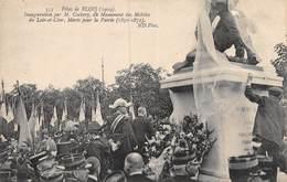 A-19-2731 : BLOIS. EDITION  ND PHOT. COLLECTIONS ND.  FETES DE BLOIS. INAUGURATION DU MONUMENT AVEC M. COCHERY - Blois