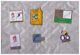 6 Pin's Variés. Poste Et France Telecom - Post