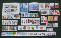 Poland 1980 - Mint MNH ** - Complete Year Set Of 61 Stamps + 3 Blocks --- Full Pologne Polonia Polen --- Ro - Pologne