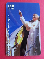 Pope Jean Paul II In The Middle East John Paul PApa Pape Papst 150u White - Personnages