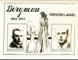 Dergneau. 1940-1945 **** - Frasnes-lez-Anvaing