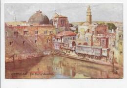 Jerusalem - The Pool Of Hezekiah - Tuck OIlette 7308 - Israel