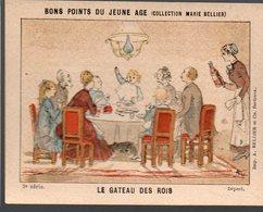 Bons Points Du Jeune âge (coll Marie Bellier) 2e Série: LE GATEAU DES ROIS  (PPP17372) - Vieux Papiers
