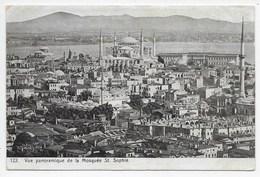 Vue Panoramique De La Mosquee St. Sophie - Turkey