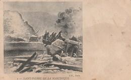 SAINT PIERRE DE LA MARTINIQUE PLACE BERTIN RESTE DU SEMAPHORE - Other