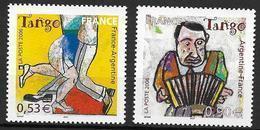 France 2006 N° 3932/3933 Neufs Le Tango, émission Commune Avec Argentine à La Faciale - Nuevos