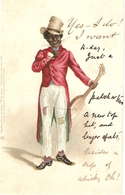 """""""Black Musicians"""" Early Tuck Write Away Comic Sketches Series PC # 970 - Tuck, Raphael"""