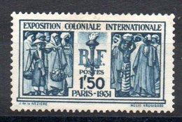 FRANCE - YT N° 274 - Neuf ** - MNH - Cote: 110,00 € - Très Bien Centré (165 €) - France