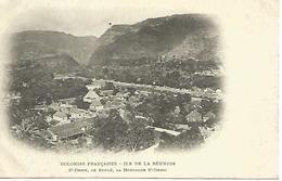 LOT De 3 CARTES De La REUNION  CILAOS - ST DENIS -   Série : Colonies Françaises  TRES BON ETAT - La Réunion