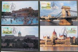 FRANCE - 2011 - PJ  4538  à 4541- BUDAPEST - 4 CARTES - FDC