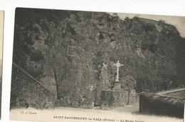 CPA, D.26, St. Barthelemy De Vals , ( Drôme ) , La Roche Taillée, Ed. Ci. J. - France